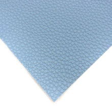 POWDER BLUE - Litchi Leather