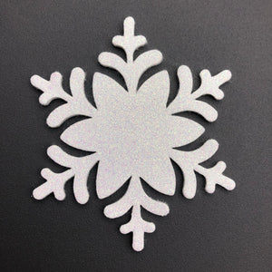 WHITE SNOWFLAKE - Die cuts