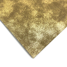 GOLD DISTRESSED METALLIC - Faux Leather