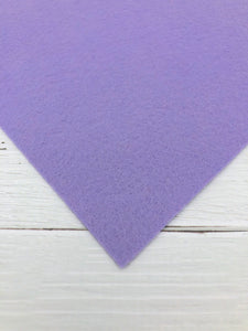 "LILAC - 12""x18"" Wool Blend Felt (Large Sheet)"