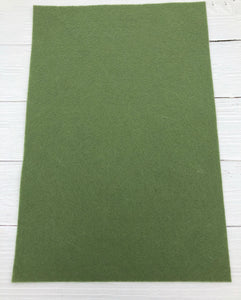 "LODEN - 12""x18"" Wool Blend Felt (Large Sheet)"