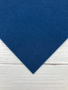"MARINE - 12""x18"" Wool Blend Felt (Large Sheet)"