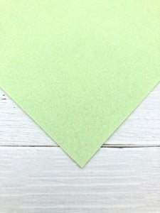 "MINT - 12""x18"" Wool Blend Felt (Large Sheet)"