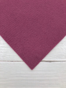 "MULBERRY - 12""x18"" Wool Blend Felt (Large Sheet)"