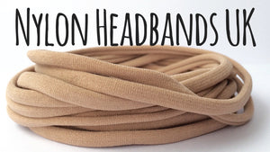 NUDE - Dainties® by Nylon Headbands