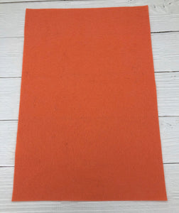 #18 PAPAYA - 100% Merino Wool Felt