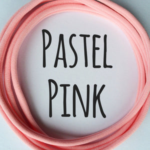 PASTEL PINK - Dainties® by Nylon Headbands