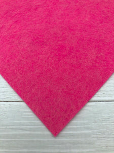 "PINK OCTOBER - 8""x12"" Wool Blend Felt"