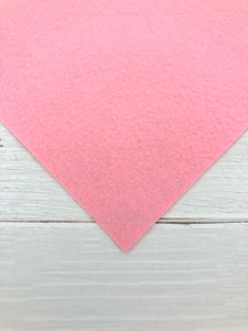 "PINK - 12""x18"" Wool Blend Felt (Large Sheet)"