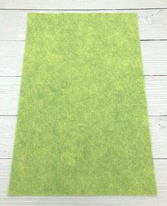 "PISTACHIO - 12""x18"" Wool Blend Felt (Large Sheet)"