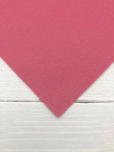 "ROSE - 12""x18"" Wool Blend Felt (Large Sheet)"