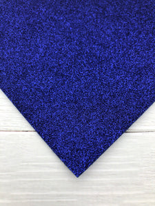 ROYAL BLUE - Glitter Felt