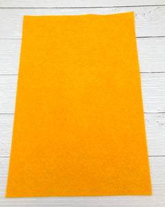 "SUNFLOWER - 12""x18"" Wool Blend Felt (Large Sheet)"