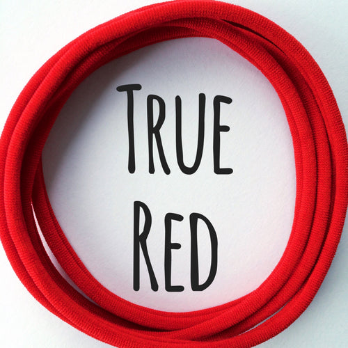 TRUE RED - Dainties® by Nylon Headbands