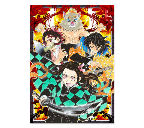 Demon Slayer: Kimetsu no Yaiba Poster (JUMP SHOP)