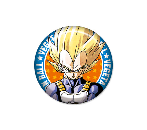 Dragon Ball Badges / tin badges Vegeta (JUMP SHOP)