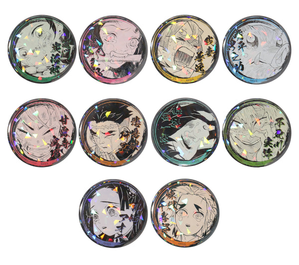 Demon Slayer: Kimetsu no Yaiba Badges / Tin Badges Inosuke Hashibira (JUMP SHOP)