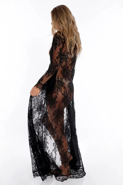Long Lace Beach Cover up SOLD