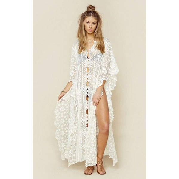 Lace Beach Cover up SOLD