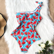 Ruffle Women Swimwear One Piece