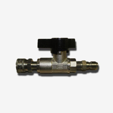 "DN-10 Nickel Plated 3/8"" High Pressure Ball Valve"