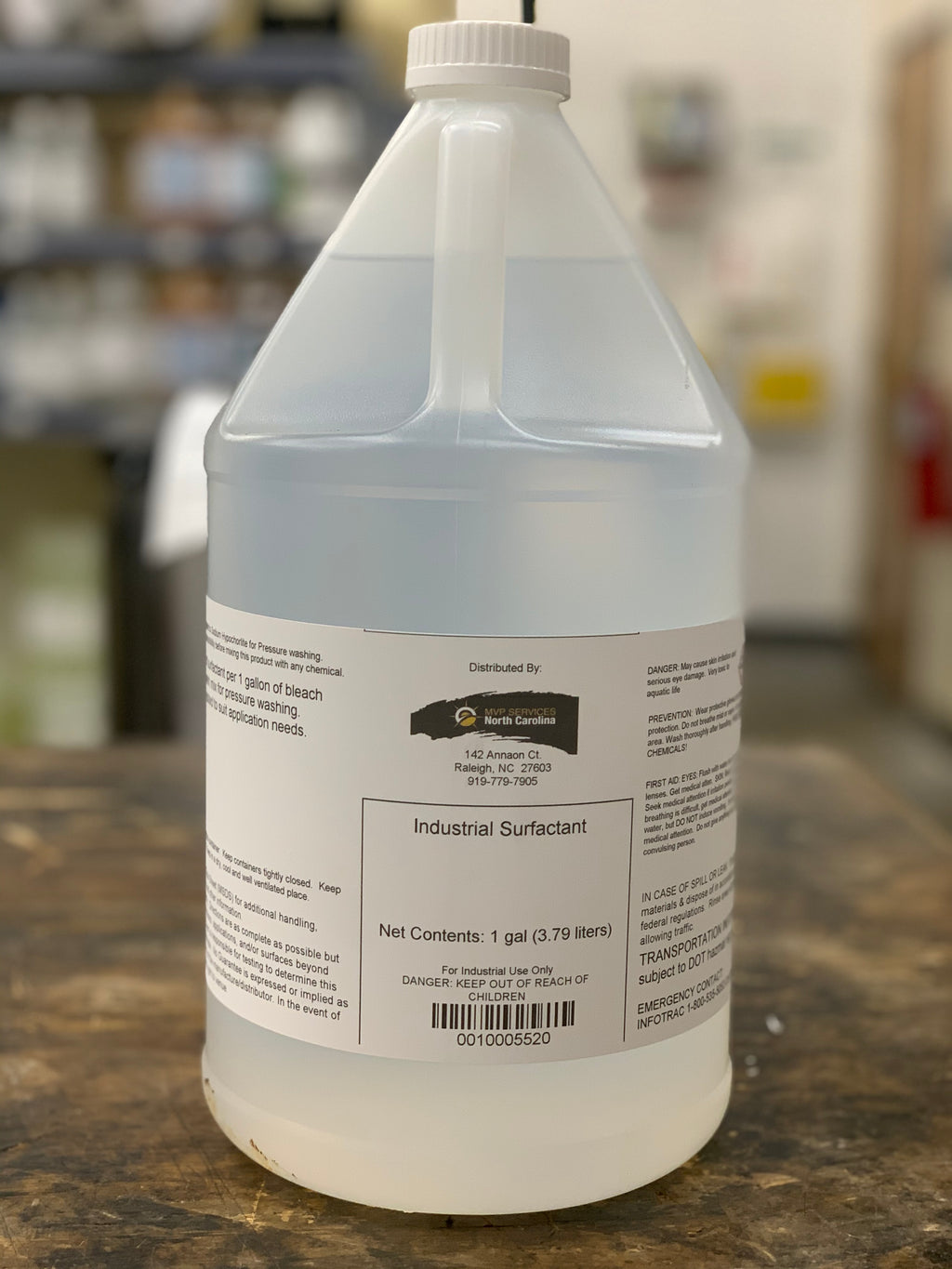 Industrial Surfactant - 1 Gallon
