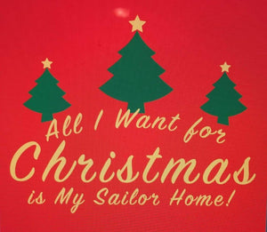 *CT001: All I Want For Christmas Is My Sailor Home... Trees