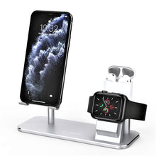 Load image into Gallery viewer,  ATUMTEK Apple Watch Universal Phone Holder Stand 3 in 1