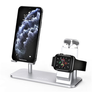 ATUMTEK Apple Watch Universal Phone Holder Stand 3 in 1