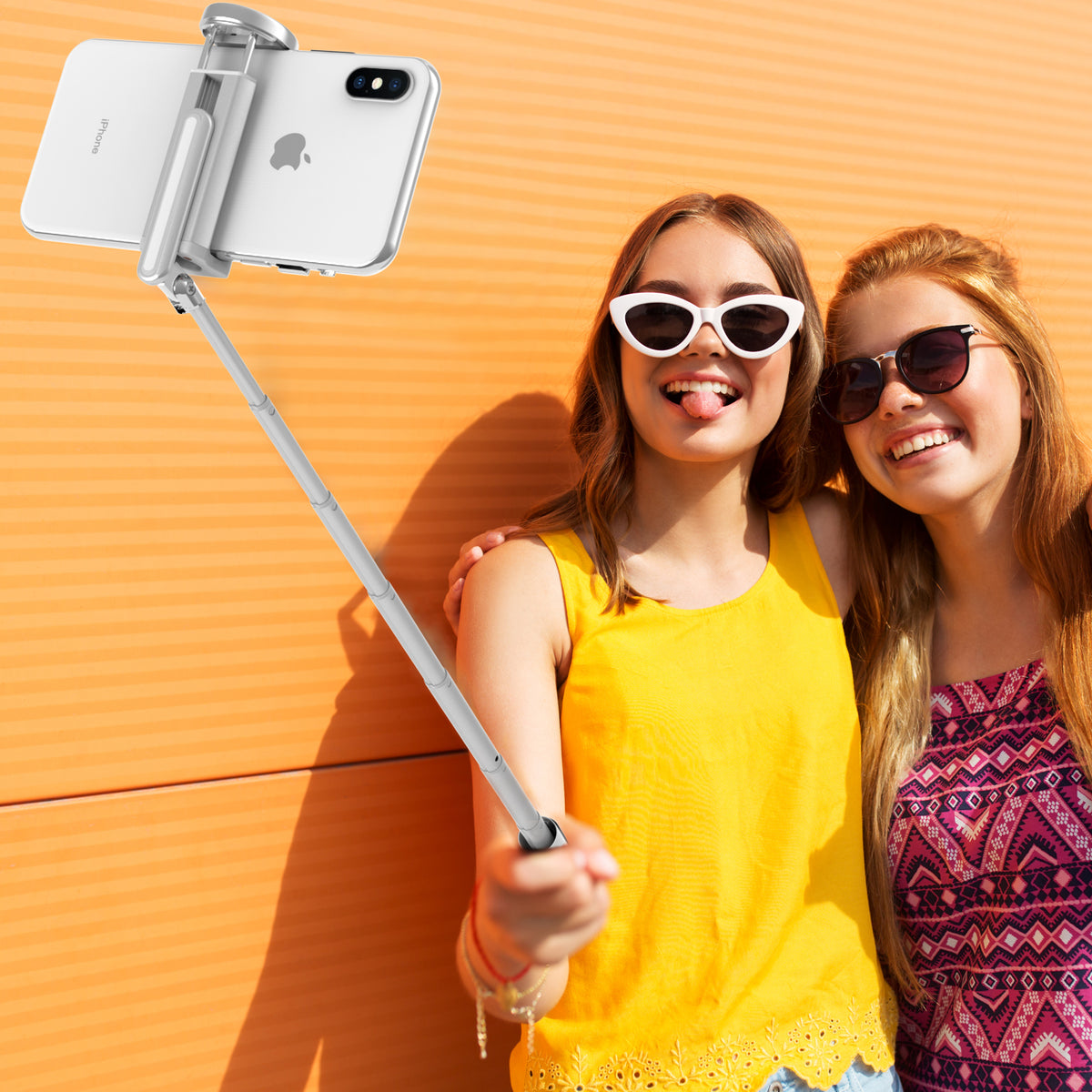 3 in 1 Bluetooth Selfie Stick Tripod with Wireless Remote-ATUMTEK