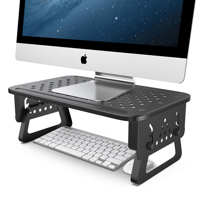 Monitor Stand Riser Adjustable Desktop Stand [2 Pack]