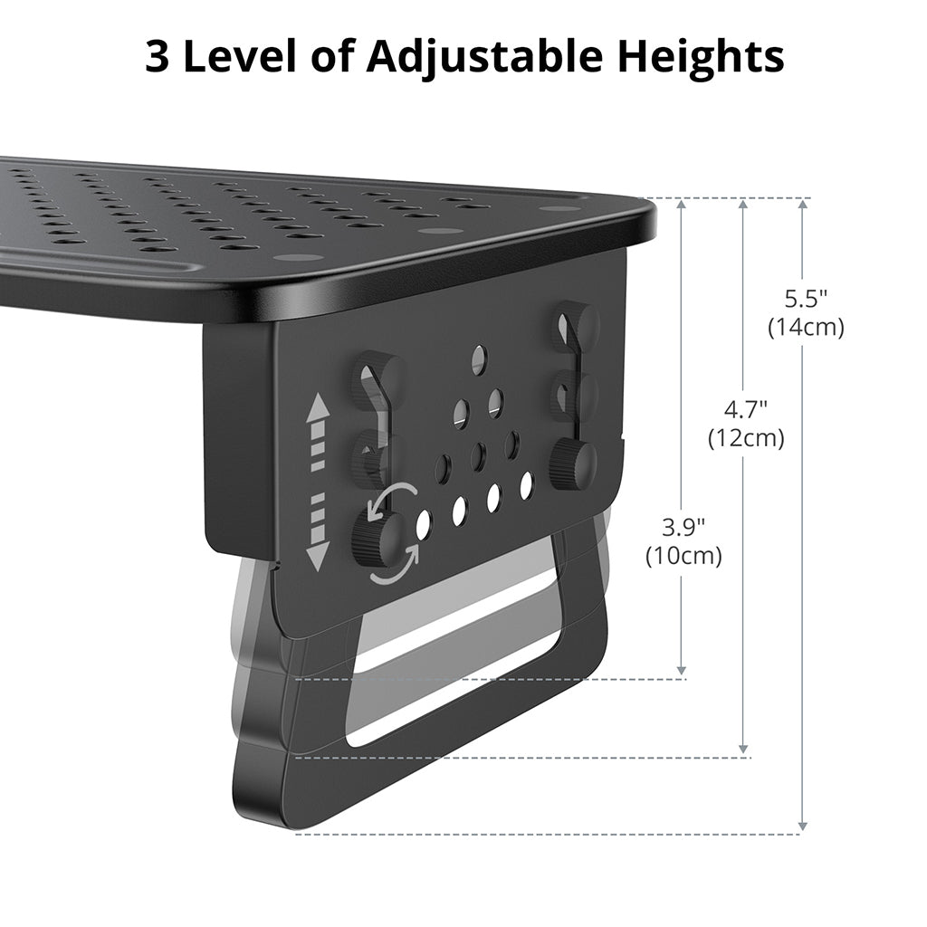 Monitor Stand Riser Adjustable Height Desktop Stand