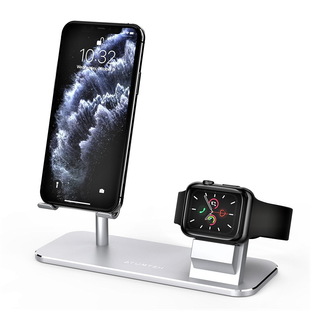 Apple Watch Universal Phone Holder Stand 2 in 1 - ATUMTEK