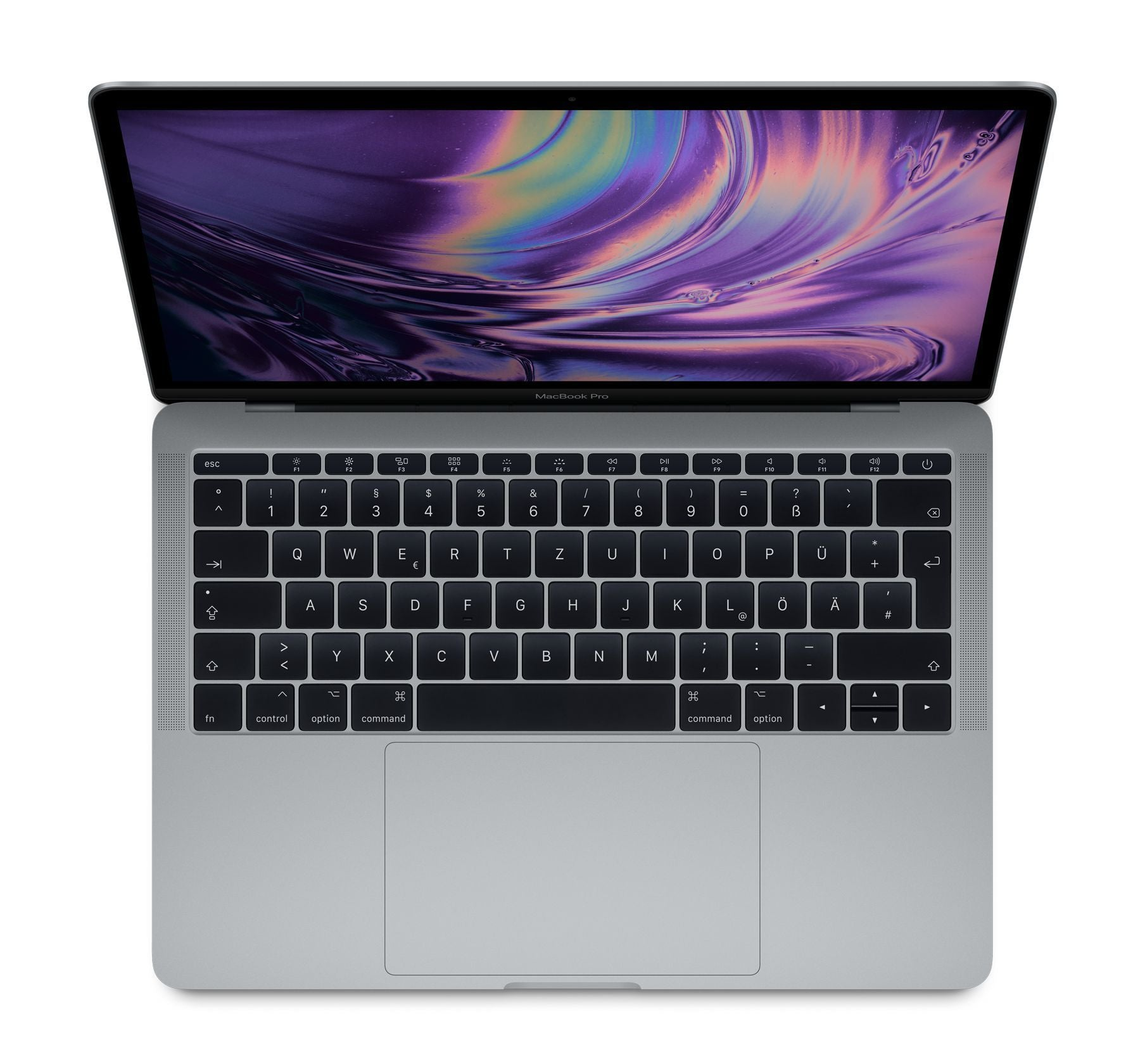 apple notebooks ab 13 apple macbook pro 13 inch 2 3ghz 128gb space grey mpxq2d a