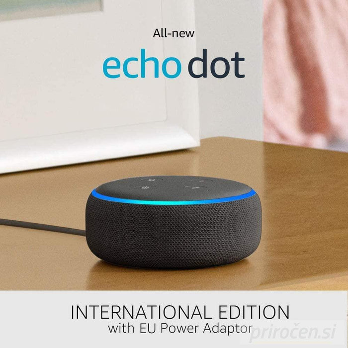 Amazon Echo Dot (3rd) zvočnik črn-PRIROCEN.SI