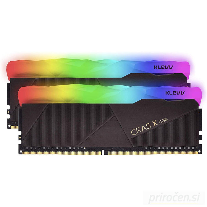 Klevv Crass X RGB 16GB Kit (2x8GB) DDR4-3200MHz CL16, 1.35V