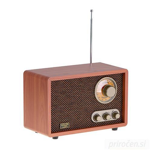 Adler retro Bluetooth radio-PRIROCEN.SI