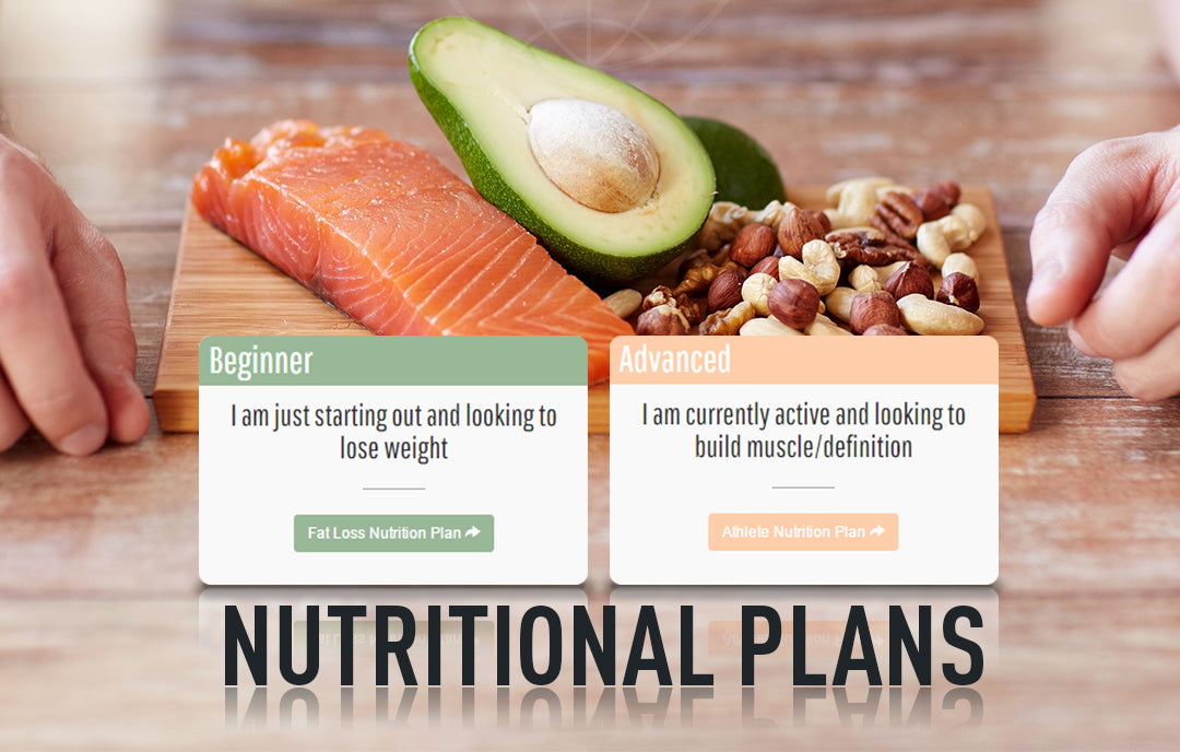 Beginner and advanced nutritional plans
