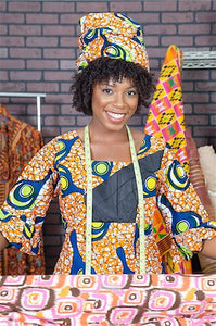 I've Just Bought My African Fabric, Yay! Now What? (Part 1)
