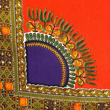 Dashiki - Angela Print Panel - Orange
