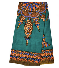 Dashiki - Angela Print 6 Yards - Hunter Green