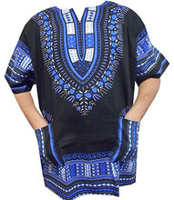 Dashiki - Angela Print  Tunics- Assorted Colors