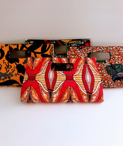 Ankara Print Handbag Style 01 - Assorted Prints
