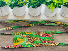 Reusable African-Print Cotton Face Masks - Style C