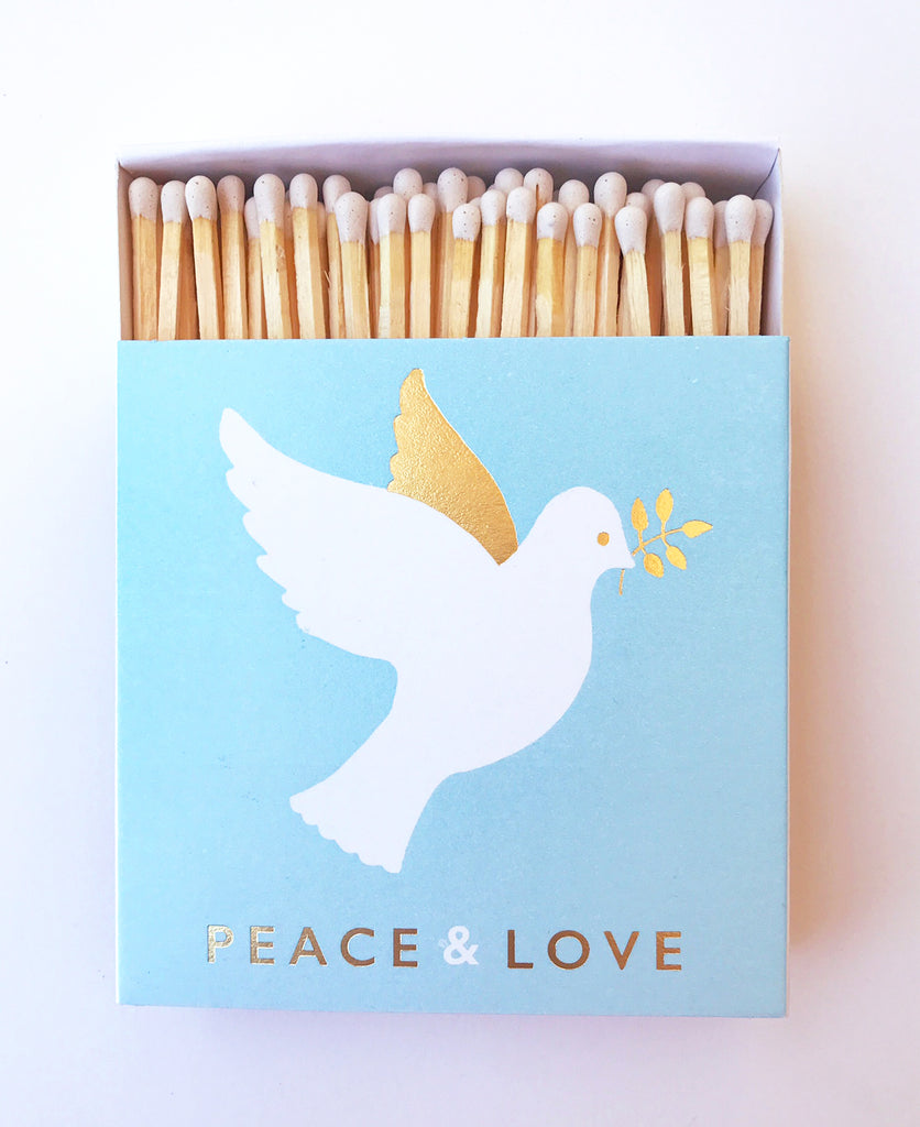 Peace Love Dove Matchbox