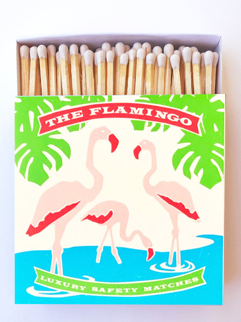Flamingo Matchbox