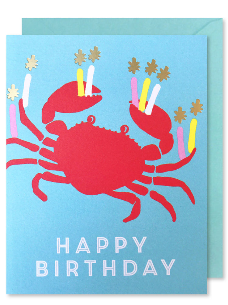 Birthday Crab