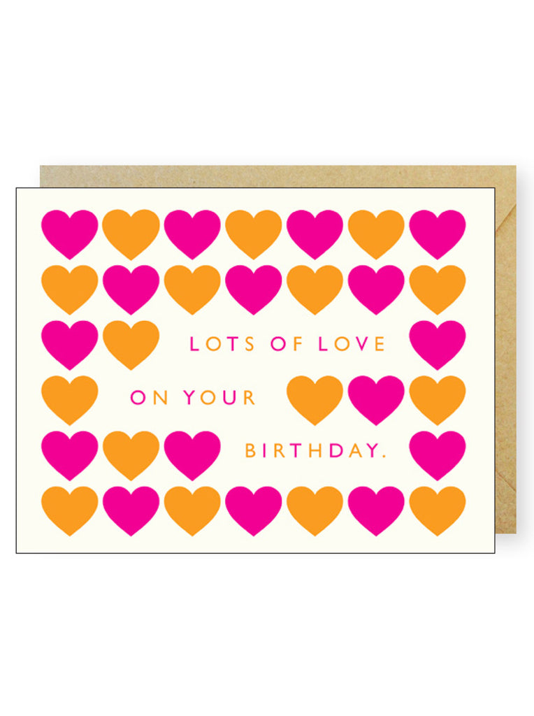 Bright Hearts Birthday
