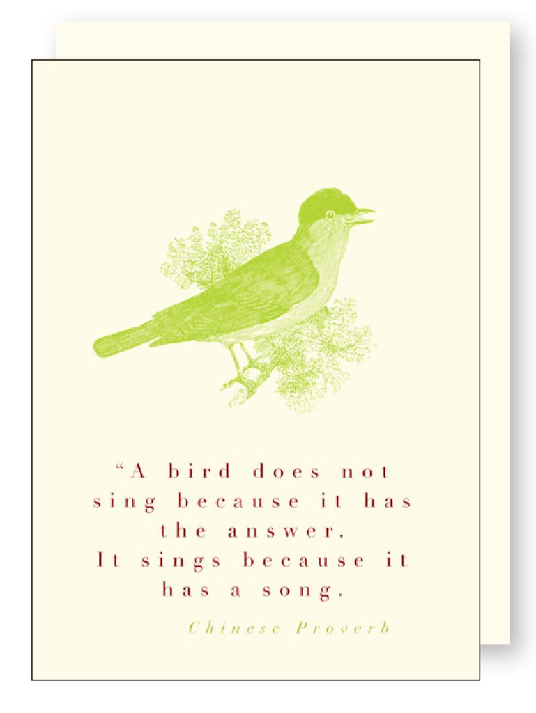 Animal Quote Bird