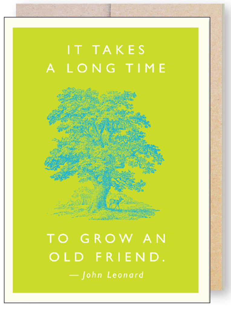 Old Friend Quote